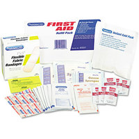 PHYSICIANSCARE First Aid Refill Pack with Most Frequently-Used Products