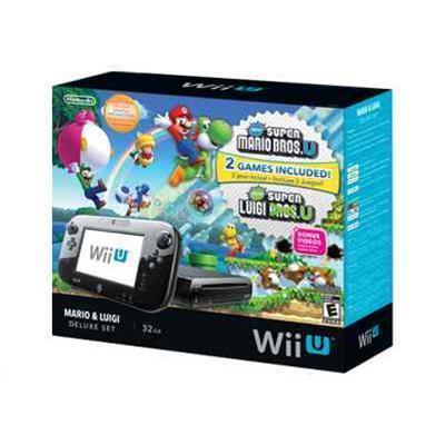 Nintendo Mario and Luigi Wii U 32GB Deluxe Set