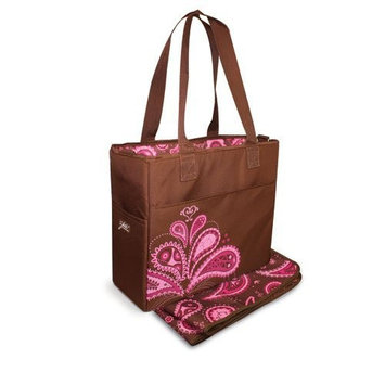 Bumkins Grande Diaper Bag, Paisley (Discontinued by Manufacturer)