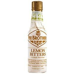 Fee Brothers Lemon Cocktail Bitters - 4 oz