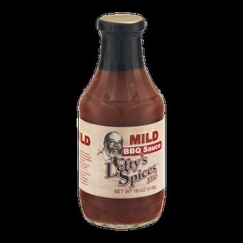 Lefty's Spices BBQ Sauce Mild