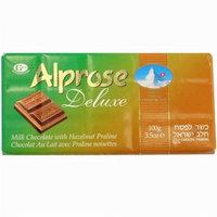 Alprose BG10160 Alprose Milk Chocolate Bar Hazelnut - 20x3. 5OZ