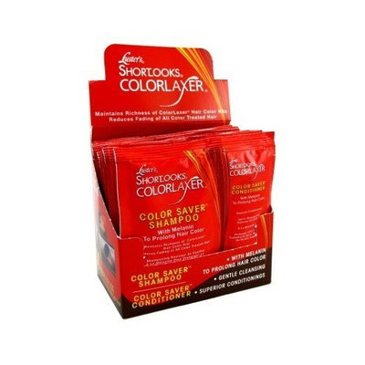 Luster's Lusters Shortlooks Colorlaxer Shampoo/Conditoner Packettes (Display of 12)