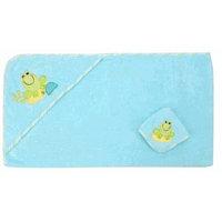 Koala Baby Baby Hooded Towel and Washcloth Set - Frog