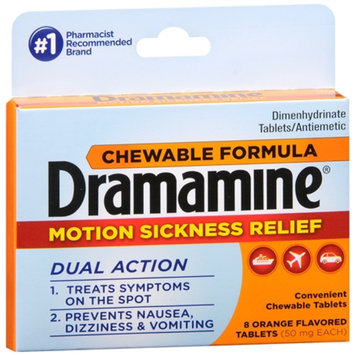 Dramamine Chewable Formula Tablets