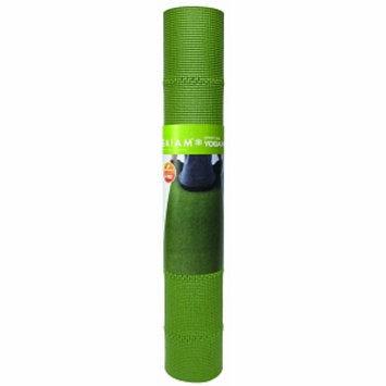 Gaiam Yoga Mat, Green Tea, 1 ea