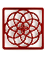 Martha Stewart Collection Collector's Enameled Cast Iron Trivet