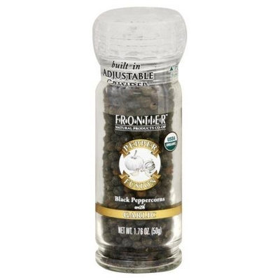 Frontier Natural Products Organic Pepper Fusion Black Peppercorns Garlic -- 1.76 oz