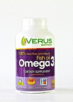 Verus Biotech 140901 Fish Oil Omega 3, 120 Softgels