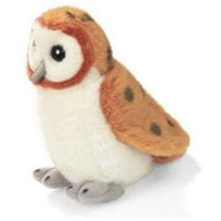 Wild Republic WR79437 Barn Owl - Audubon Plush Bird - Authentic Bird Sound