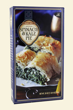 Trader Joe's Spinach and Kale Pie