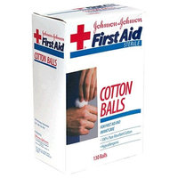 Johnson & Johnson Cotton Balls for First Aid and Infant Care, Sterile, 130/Package (JOJ6105) Category: Bandages and Dressings
