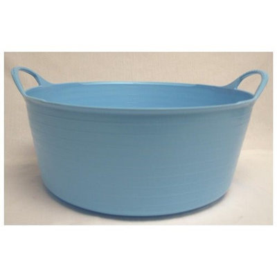 Tubtrugs Small Shallow 15L Skyblu - Part #: SP15SKBL