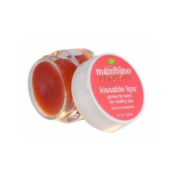Mambino Organics - Kissable Lips Moisturizer .25 oz/7 g *made with certified organic ingredients