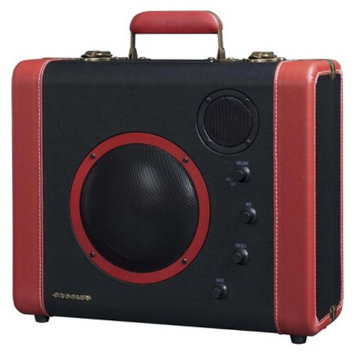 Crosley Radio Sound Bomb Portable Speaker System - Black/Red (CR8008A-