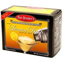 Kegworks.com Lemon Drop Bar-Tenders Instant Cocktail Mix: Box - 6 Pouches