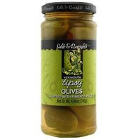 Sable & Rosenfeld Sable and Rosenfeld SRV0148 Vermouth Tipsy Olives - Pack of - 3