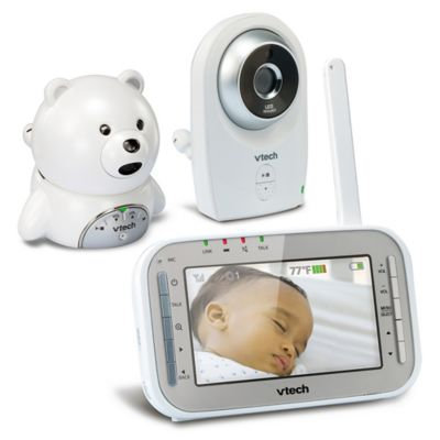 VTech Safe and Sound® 4.3 inch Expandable Digital Video Baby Monitor VM341-216