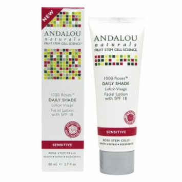 Andalou Naturals 1000 Roses Daily Shade Facial Lotion SPF 18, 2.7 fl oz