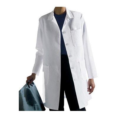 Medline Ladies Staff Length Lab Coat