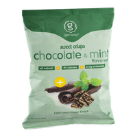 Genisoy Sweet Crisps Chocolate & Mint Flavored