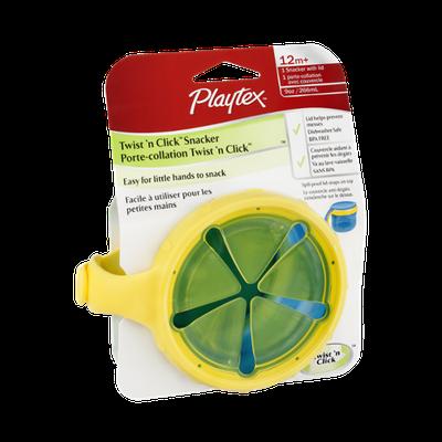 Playtex Twist 'n Click Snacker Blue 12m+