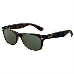 Ray Ban RB 2132 902/58 Havana Polarized G-15 Lenses Wayfarer Sunglasses 58mm