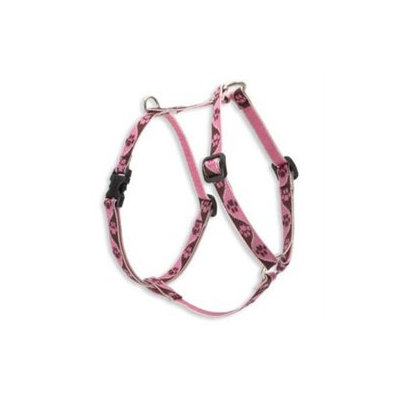 Lupine Pet 746889543060 Tickled Pink 12 In-20 In. Roman Harness