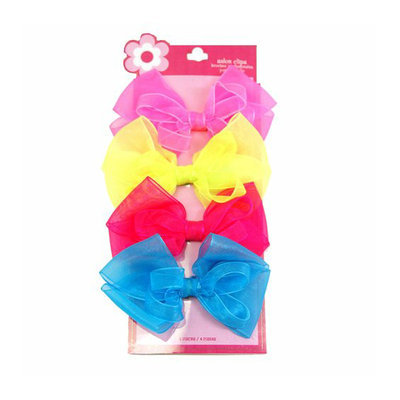 Girls' Large Bow Snaps