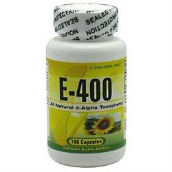 Vitalabs Vitamin E-400, 100 capsules