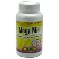Vitalabs Chelated Mega Min, Multi-Minerals, 100 tablets