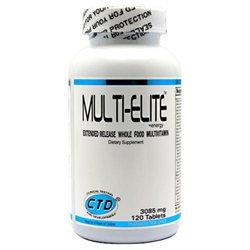 CTD Labs Multi-Elite Whole Food Multivitamin 3085mg, Tablets, 120 ea