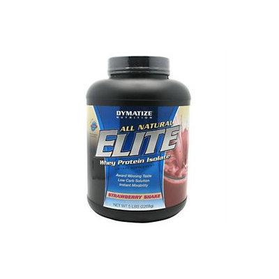 Dymatize Enterprises Inc. Dymatize Elite All Natural Whey Protein Isolate - Strawberry Shake