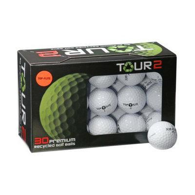 Top-Flite Tour 2 Premium Recycled White Golf Balls 30-pk.