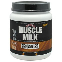 CytoSport Muscle Milk Protein Powder - Chocolate - 1 lb Chocolate