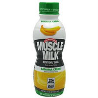 CytoSport Muscle Milk RTD Banana Creme - 12 Containers