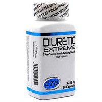 CTDLabs CTDLDIUR00800000CP Diuretic Extreme 80 ct