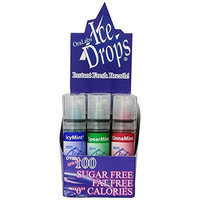 Ice Drops Ice Drop Breath Spray Variety Box of 4 Flavors, 24-Count