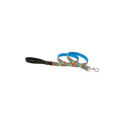 Lupine Pet Lupine Inc 34507 3/4 X 4' Muddy Paws Design Dog Lead