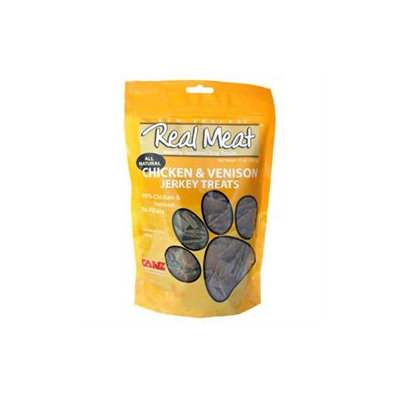 Real Meat Company 80022 4oz Chicken and Venison Treats for Dogs