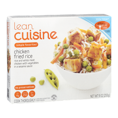 Lean Cuisine Simple Favorites Chicken Fried Rice