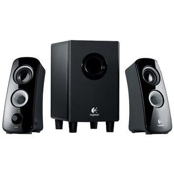 Logitech Z323 Speaker System with Subwoofer - Black (980-000354)