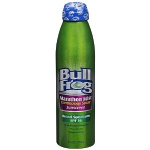 Bull Frog Sunblock Marathon Mist Continuous Spray
