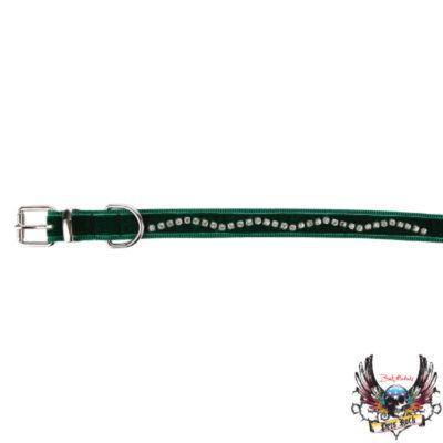 Bret Michaels Pets RockTM Rhinestone Holiday Collar