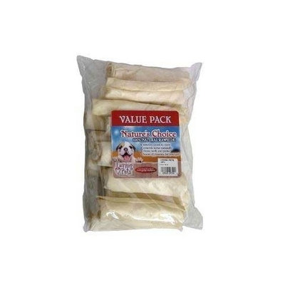 Loving Pets Dog Supplies Rawhide 4&Quot; White Retriever Rolls 13Pk - Value Pack