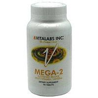 Vitalabs Mega-2, Multi-Vitamins & Minerals, 90 tablets