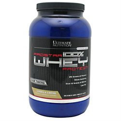 Ultimate Nutrition Prostar 100% Whey Protein - 2 Lbs. - Vanilla Cream
