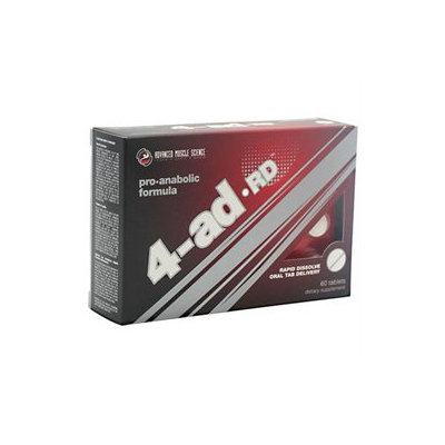 4-ad RD, Pro-Anabolic Formula, 60 Tablets, Advanced Muscle Science