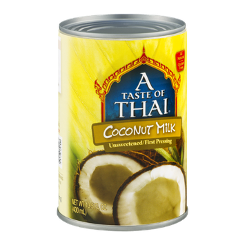 A Taste of Thai Coconut Milk