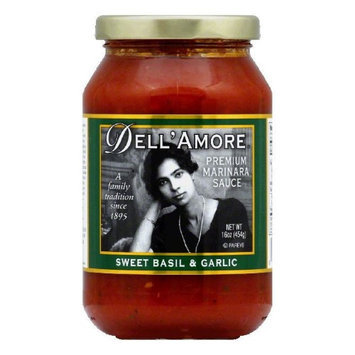 Kehe Distributors DELL AMORE 401999 DELL AMORE SAUCE MARINARA SWT BASIL & GRL - Case of 12 - 16 OZ